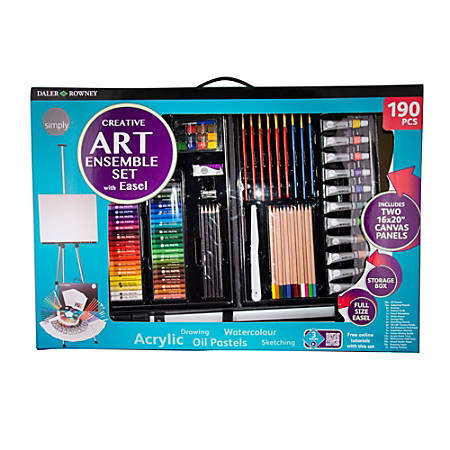 Daler-Rowney 190-Piece Art Set
