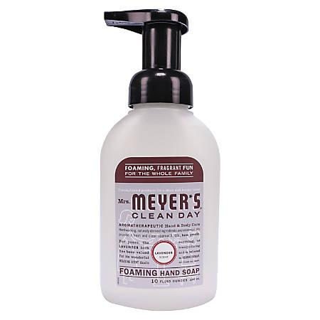 Mrs. Meyer's Clean Day Foaming Hand Soap, 10 Oz, Lavender Scent, Pack Of 6 Bottles