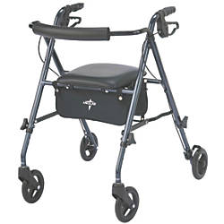 Guardian Ultralight Rollator 6 Wheels Smoky