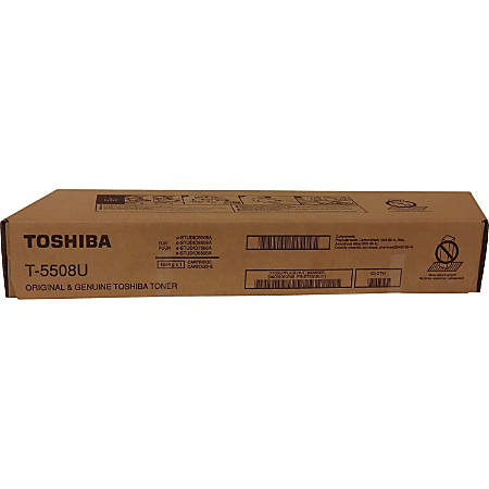 Toshiba Toner Cartridge - Black - Laser - 106600 Pages - 1 Each