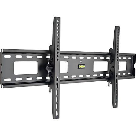 "Tripp Lite Display TV LCD Wall Monitor Mount Tilt 45"" to 85"" TVs / Monitors / Flat-Screens - 200 lb Load Capacity - Metal - Black"