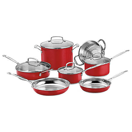Cuisinart Chef's Classic Stainless Color Series 11-Piece Set