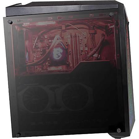 MSI Infinite X Plus 9SE-272US Gaming Desktop Computer - Core i7 i7-9700K - 16 GB RAM - 2 TB HDD - 512 GB SSD - Mid-tower - Windows 10 Pro - NVIDIA GeForce RTX 2080 VENTUS 8 GB - Wireless LAN