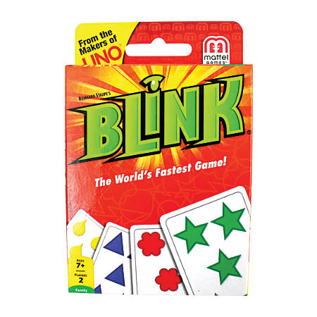 Mattel® Blink® Card Game, Ages 7-14