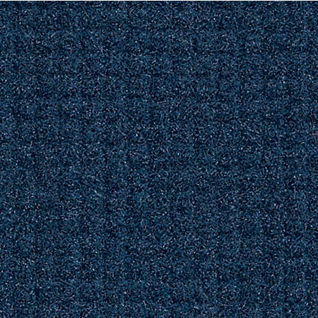 "The Andersen Company Brush Hog Plus Floor Mat, 48"" x 72"", 20% Recycled, Navy Brush"