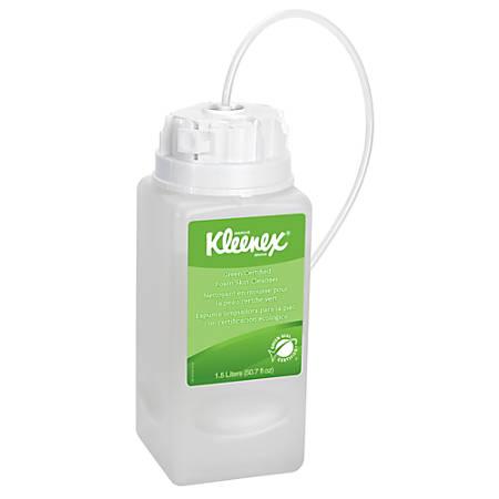 KLEENEX® Fragrance-Free and Dye-Free Foaming Skin Cleanser, 64 oz, Pack of 2