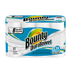 Bounty DuraTowel Paper Towels 2 Ply