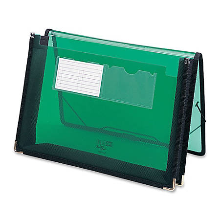 "Smead® Inndura UltraColor Expanding Wallet, Letter Size, 5 1/4"" Expansion, Green"
