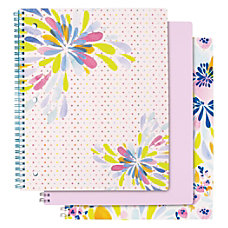 Divoga Personal Size Notebook Happy Floral