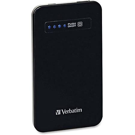 Verbatim Ultra Slim Power Pack (4200 mAh) - Black