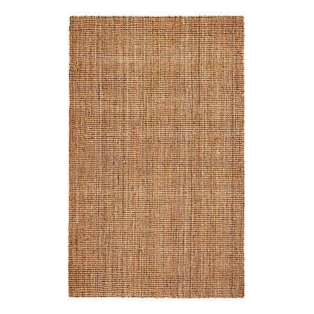 Anji Mountain Andes Jute Rug, 9' x 12', Tan