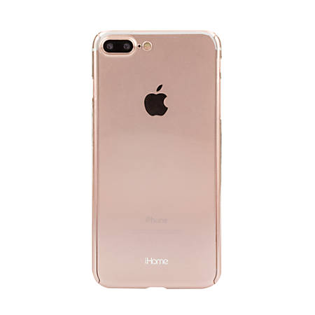 iHome® Ombre Slim Shield 360 Degree Protection Case For Apple® iPhone® 7/7 Plus, Rose Gold