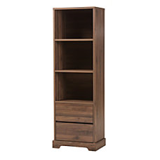 Baxton Studio Leonas 3 Shelf Bookcase