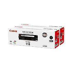 Canon 118 Black Toner Cartridges 2662B004AA