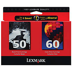 Lexmark 5060 15M2327 BlackTricolor Ink Cartridges