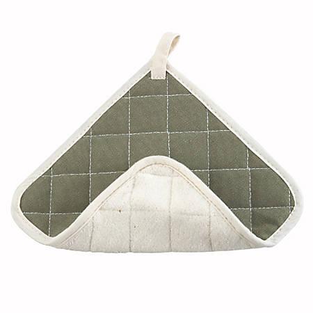 "Winco Terry Cloth Hot Pad, 8"" X 8"", Green"