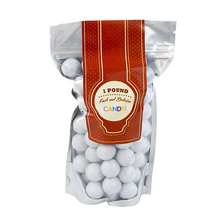 Sweetworks Foil-Wrapped Solid Milk Chocolate Balls, 1 Lb