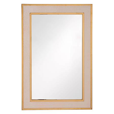 Zuo Modern Pavia Mirror, Cream