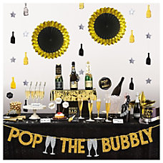 Amscan New Years Deluxe Bubbly Bar