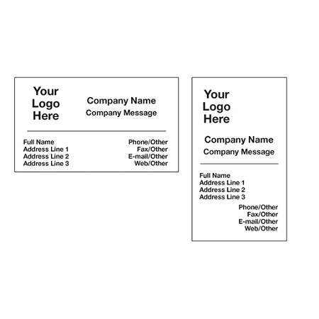 Economy business card magnet by office depot officemax reheart Choice Image
