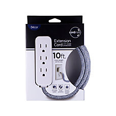 Cordinate 3 Outlet 16 Gauge Extension