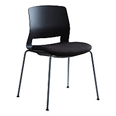 Lorell Arctic Series Stacking Chairs Black