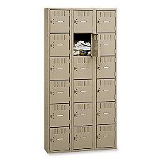 Tennsco Six Tier Box Locker 3
