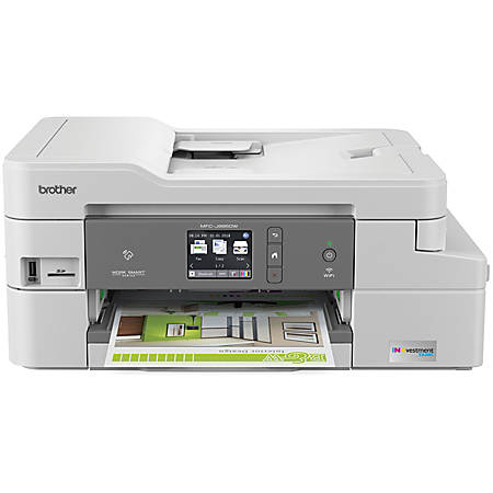 Brother INKvestment Tank Wireless Color Inkjet All-in-One Printer, Scanner, Copier, Fax, MFC-J995DWXL