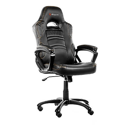 Arozzi Enzo Series Gaming Racing-Style Swivel Chair, Black