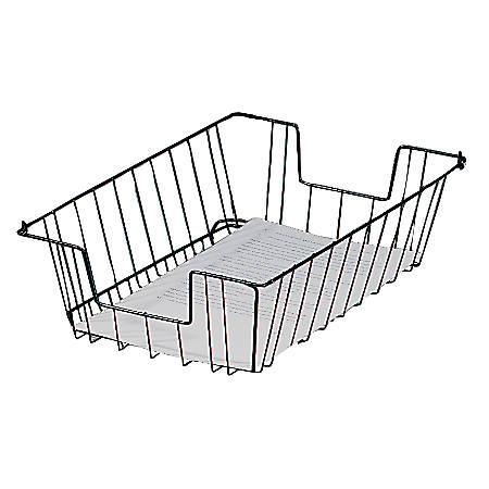 Brenton Studio™ Letter Wire Desk Tray, Black