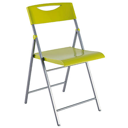 Alba CPSMILE Chair, Green, Set Of 2