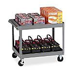 Tennsco Service Cart 2 Shelves 36