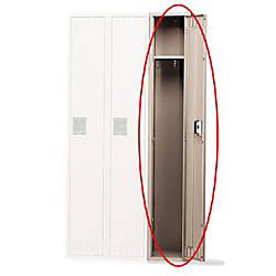 Tennsco Single Tier Locker 1 Wide