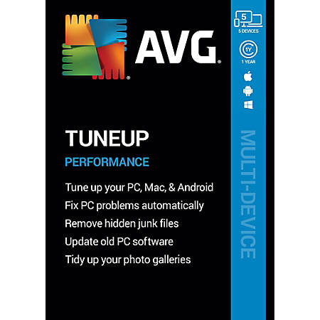 AVG TuneUp 2020 | 5 Devices 1 Year | Download