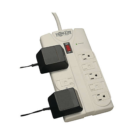 Tripp Lite TLP808 Protect It! 8 Outlet Surge Suppressor, 8ft Cord, 1440 Joules