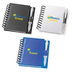 Spiral Notebook Pen Set