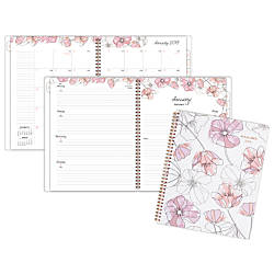 AT A GLANCE Blush WeeklyMonthly Planner