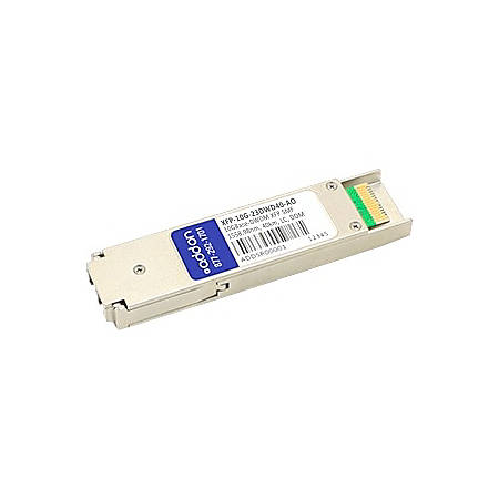 AddOn Alcatel-Lucent Compatible TAA Compliant 10GBase-DWDM 100GHz XFP Transceiver (SMF, 1558.98nm, 40km, LC, DOM)