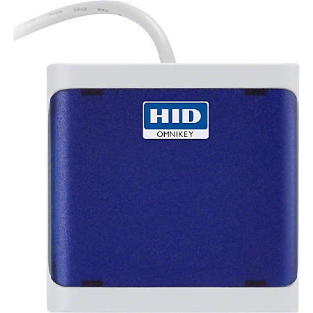 HID OMNIKEY 5021 CL Contactless Smart Card Reader - CableUSB 2.0