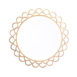 Zuo Modern Rani Circular Mirror Medium