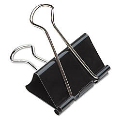 Binder Clips 1 Assorted Colors Box