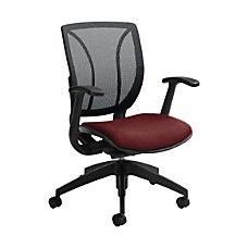 Global Roma Mesh Mid Back Chair