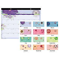 AT A GLANCE Paper Flowers Monthly