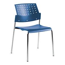 Global Sonic Armless Chair 33 H