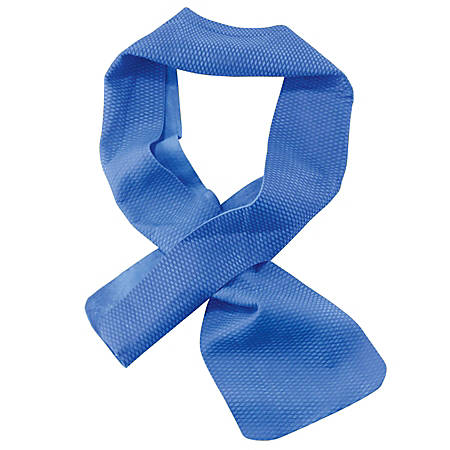 """Chill-Its® 6603 Evaporative Cooling Band, 29-1/2""""H x 4""""W, Blue"""