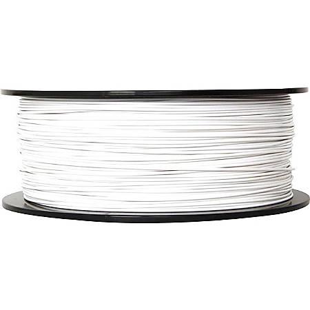 "MakerBot 3D Printer Dissolvable HIPS Filament, White, 0.07"""