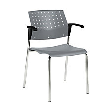 Global Sonic Armless Chair 33 H