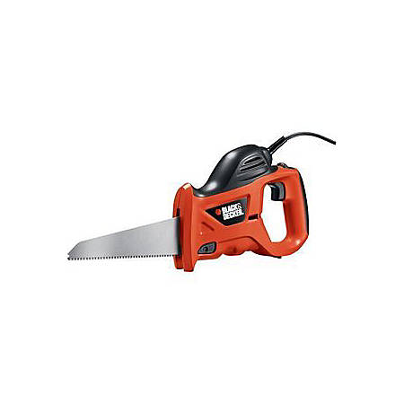 Black & Decker PHS550B Powered Handsaw - 4600 SPM - Variable Speed - 3.40 A