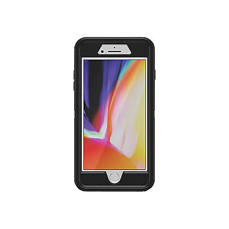 OtterBox Otter + Pop Defender Series - Protective case for cell phone - rugged - black - for Apple iPhone 7 Plus, 8 Plus