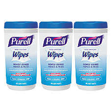 Purell Hand Sanitizing Wipes Clean Refreshing